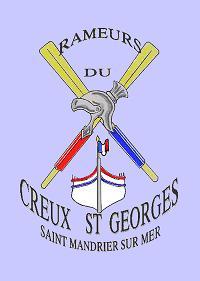 Embléme rameurs du Creux Saint Georges